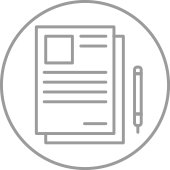 icon of paper and pen