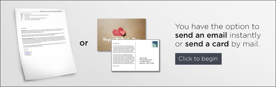 Send a card greeting